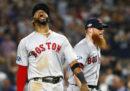 I Boston Red Sox hanno eliminato i New York Yankees e si sono qualificati alle finali di lega della MLB