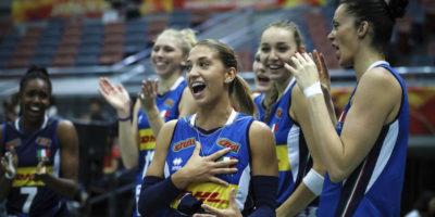 Pallavolo, Mondiali femminili: Italia qualificata alla Final Six