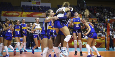 Volley, Mondiale: Cina di bronzo, travolta l?Olanda 3-0