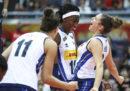 L'Italia femminile di pallavolo ha vinto ancora