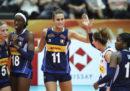 L'Italia femminile ha vinto sette partite consecutive ai Mondiali di pallavolo