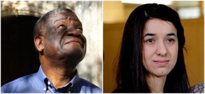 Denis Mukwege e Nadia Murad hanno vinto il Nobel per la Pace