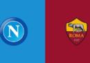 Napoli-Roma in streaming in diretta TV