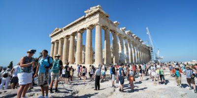 In Grecia qualcuno pensava che il Partenone fosse in vendita