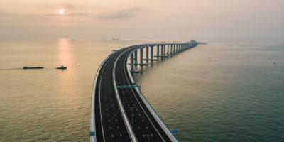 C'è un nuovo gigantesco ponte in Cina