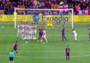 Il modo creativo con cui Brozovic ha sventato un probabile gol del Barcellona
