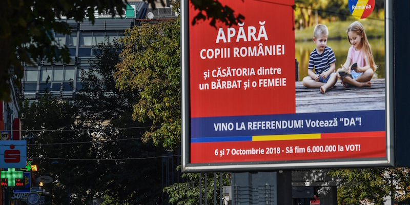 La Romania affossa il referendum contro i matrimoni gay