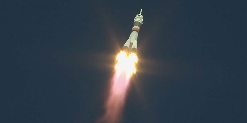 Soyuz, il momento dell'incidente