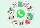 WhatsApp ha introdotto una nuova funzione: gli sticker