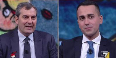 Cosa si sono detti Luigi Di Maio e Mario Calabresi a DiMartedì