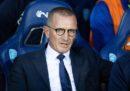 L'Empoli ha esonerato il suo allenatore, Aurelio Andreazzoli