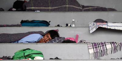 La carovana di migranti è a Città del Messico