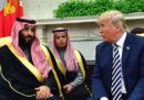 La dichiarazione di Trump a sostegno dell'Arabia Saudita