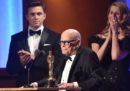 La premiazione di tre Oscar onorari