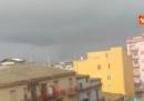 Una tromba d'aria ha colpito la provincia di Crotone