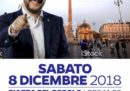 L'hanno fatta un po' di fretta, questa locandina di Salvini