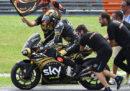"""Il pilota italiano Francesco """"Pecco"""" Bagnaia ha vinto il Mondiale di Moto2"""