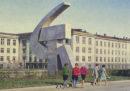 Cartoline sovietiche brutaliste
