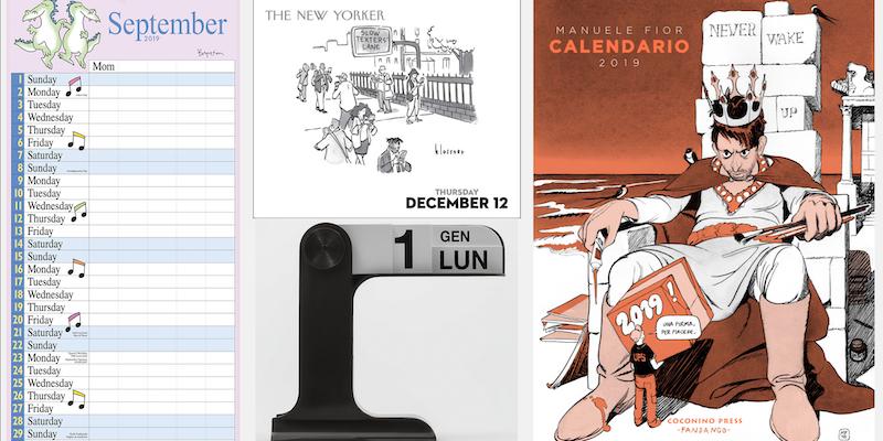 Chi Ha Inventato Il Calendario.Calendari Belli Fuori Dallo Smartphone Il Post