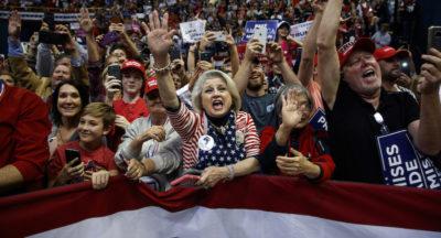 Una campagna elettorale americana