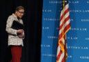 Ruth Bader Ginsburg, la più anziana giudice della Corte Suprema, è ricoverata in ospedale dopo essersi fratturata tre costole