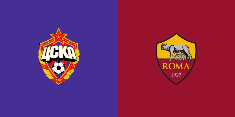 Champions League CSKA Mosca Roma