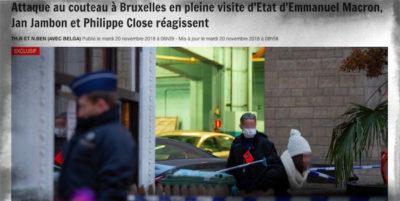 A Bruxelles è stato accoltellato un poliziotto, un giornale locale parla di un attacco islamista
