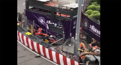 L'incidente di Sophia Flörsch in Formula 3