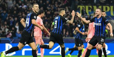 Inter e Napoli hanno pareggiato contro Barcellona e Paris Saint-Germain in Champions League