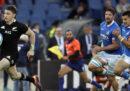 L'Italia di rugby è stata battuta 66-3 dalla Nuova Zelanda nell'ultimo test match di novembre