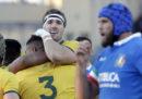 L'Italia di rugby ha perso 26-7 contro l'Australia nel suo penultimo test match autunnale