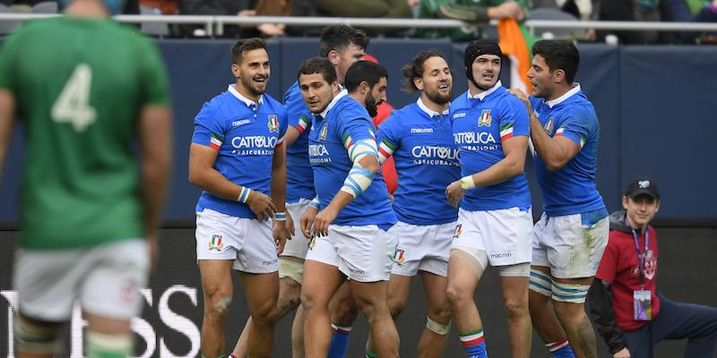 Rugby: l'Italia batte la Georgia 28-17 a Firenze nel test match
