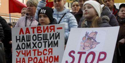 In Lettonia smetteranno di insegnare il russo nelle scuole