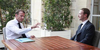 Facebook collaborerà col governo francese