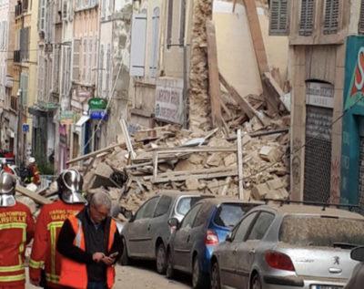 Crollano due palazzi a Marsiglia - Ultima Ora