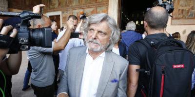 Sampdoria, sequestrati beni al presidente Ferrero