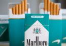 Gli Stati Uniti vogliono vietare le sigarette al mentolo