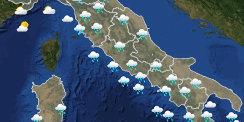 Le previsioni meteo di domenica 25 novembre il post - Il meteo bagno di romagna ...