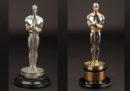 Due statuette degli Oscar per il Miglior film saranno messe all'asta a dicembre