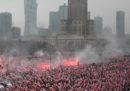 Le foto della marcia a Varsavia con lo Stato e i neofascisti insieme