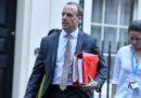 Dominic Raab, ministro per Brexit del governo britannico, si è dimesso