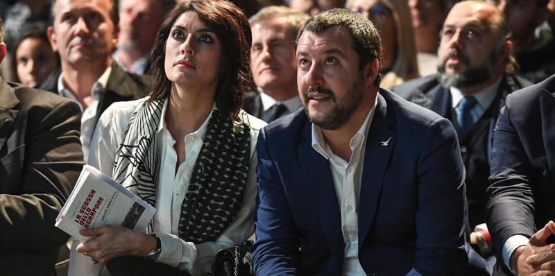 Salvini,è l'ora dell'addio con la Isoardi