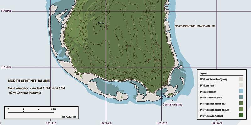 Missionario Usa ucciso da una tribù nell'isola di North Sentinel