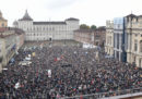 Le foto della manifestazione pro TAV a Torino