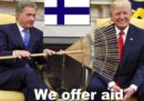 I finlandesi hanno trollato Trump per le cose che ha detto sui rastrelli e gli incendi