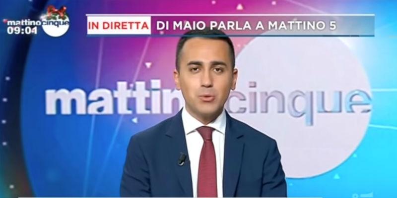 Di Maio dice che ci sono «soldi che ci avanzano»