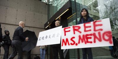 Il Canada concede la libertà su cauzione a Lady Huawei