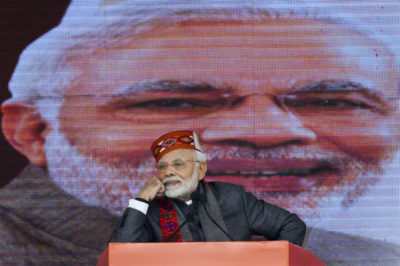 I primi exit poll dicono che in India ha vinto la coalizione del primo ministro uscente, Narendra Modi