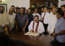 Lo Sri Lanka cambia di nuovo primo ministro