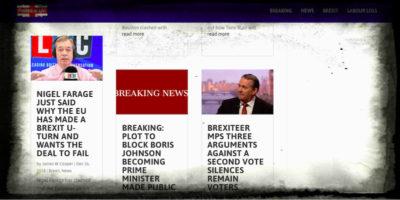 Come il governo britannico cerca di combattere la propaganda populista online